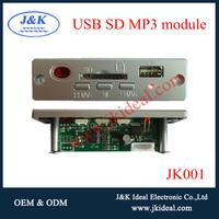 JK001 USB SD audio mp3 amplifier board video player circuit