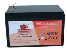 Hot sale UPS battery12v12AH/stationary lead acid battery12V12AH/recycled lead acid battery