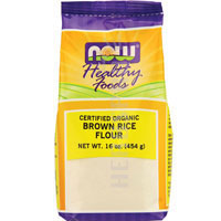 United States Seller:Brown Rice Flour Organic 1 lb by Now Foods