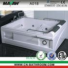 2 Persons Massage Bathtub & Whirlpool tubs & Bath tub A018