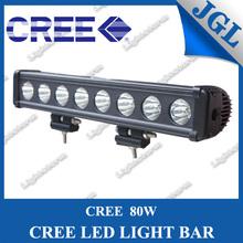 professional design 80w cree led light bar,high power 10w cree offroad led light bar,motorcycle headlight universal