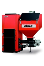 Central Heating GIGAR boiler with automatic feeding system to burn pea coal or fine coal
