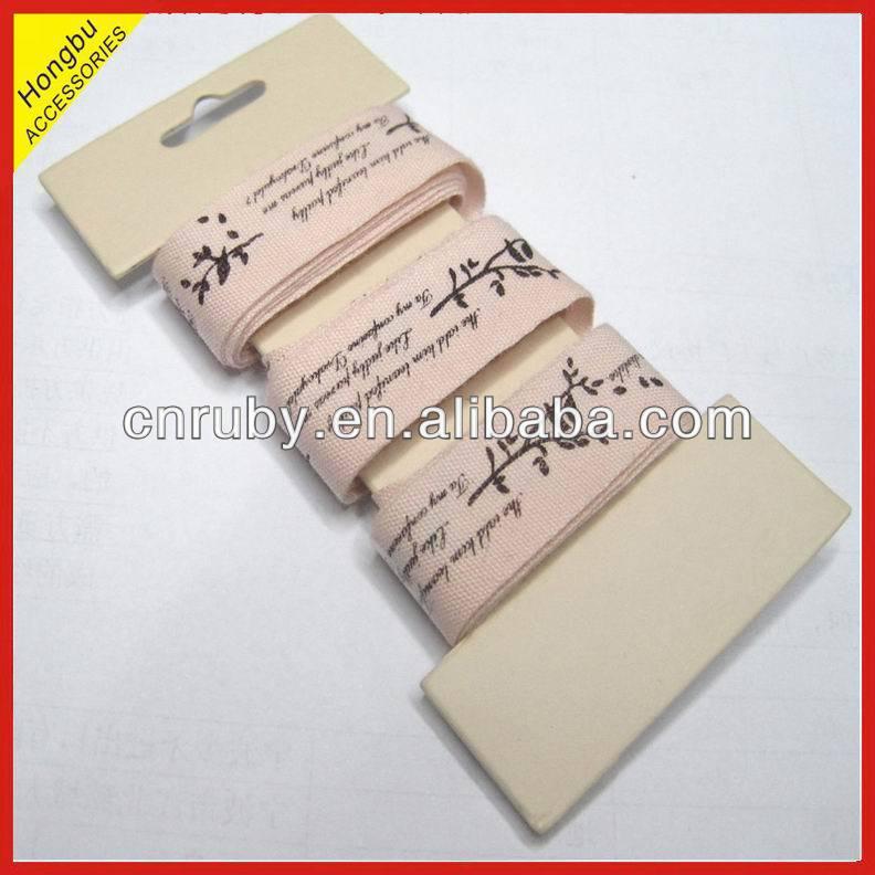 Tape High Bias Cotton Printed Bias Tape