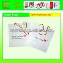 Luxury Logo Printing Paper Shopping Bags