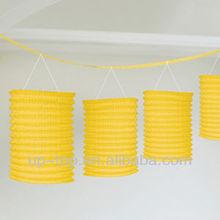 paper lantern garland For Wedding & Party Decoration
