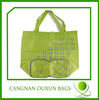 green gift shopping bag