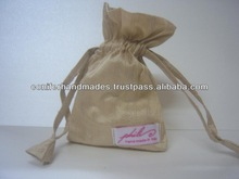 Custom Made Drawstring Bags for Jewelry Designers, Gift Packaging,