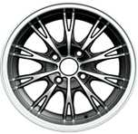 skillful manufacture 15*7.0inch car aftermarket alloy wheel