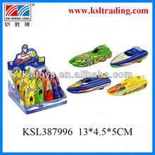baby plastic toy motor boat electric b/o ship supplier