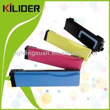 4 Colour Kyocera TK-550 Toner Cartridge Multipack (TK-550K/C/M/Y)