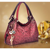 2014 New Fashion Gradient Color Synthetic Leather Retro Inclined Big Bag Women Handbag Bag Shoulder
