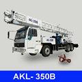 Pozo profundo de agua de perforación, akl-350b camión montado plataforma de perforación
