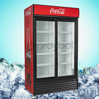 PROCOOL commercial glass door display showcase for drinks