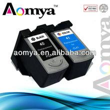 Zhuhai!! compatible canon pixma ip1880 printer ink cartridge pg40