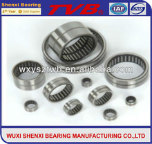 large surface area for NAV series no inner ring needle roller bearings