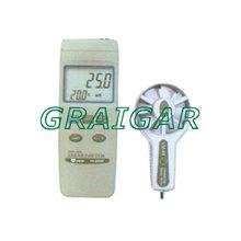 air flow meter wind speed Range (Air Velocity) : 0.5~40m/s Anemometer TN2480