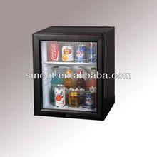 glass door mini beer fridge 25 litre