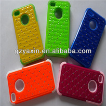 Jewelled Bling Sparkle Back Phone Case Cover for iphone 4/5