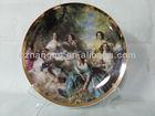 "8"" decoration ceramic plates souvenir plate"