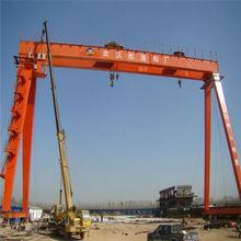 Ship building gantry crane