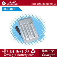 GLE--822 Automatic mini quad charger for aa aaa nicd nimh battery