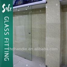SUS304/316 grade stain or mirror finishing sliding glass door track kit