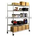 5 niveles organizador de garaje, garaje de alambre estanterías