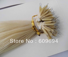 2013 best quality keratin fish line hair extensions nano ring hair extensions