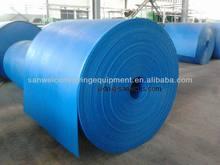 Professional Blue Solid Woven PVC Elevator Belt