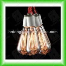 St64 Edison vendimia antigua bombilla bombilla de filamento bombilla