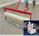 High adhesion plastic carpet protector / PE film