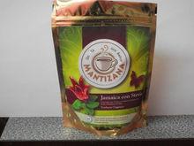 Hibiscus with stevia tea