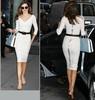 White Sexy Bodycon Dress (Miranda Kerr Style)