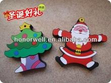 Christmas tree usb flash memory for hot sell free logo