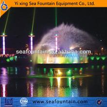 three-tier fountains dancing mulmedia fountain