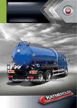 Cesspit Emptier Vacuum Truck