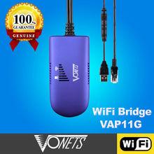 Best Selling VONETS VAP11G WiFi bridge for xbox 360 wireless adapter