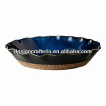 Antique Ceramic Plates Porcelain Pie Plates