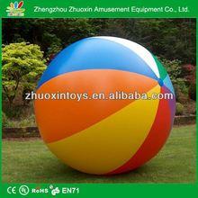 fashion design inflatable glow beach ball