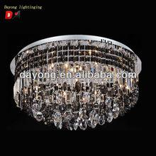 Hot vente 3003 - 16 cristal ronde plafond suspendu éclairage