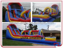 inflatable slip, inflatable slip and slide