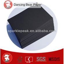 Supply 700*1000mm 2.0mm black color card