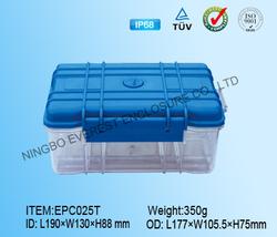 Hard plastic transparent case