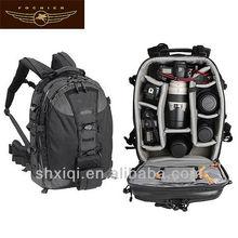2014 black cameras backpack for photographer