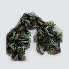 Fashion peace sign military scarf