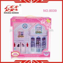 8039 plastic furniture toys 2013 plastic villa