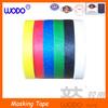 Highn temperature colored masking paper tape, masking tape wholesale