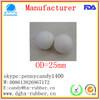 Dongguan manufacturer high bouncy sponge rubber dog toy ball