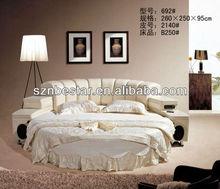 Best price fashional king round bed mattress