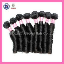 XBL Be Popular for Black Women Virgin Remy Hair Machine Weft